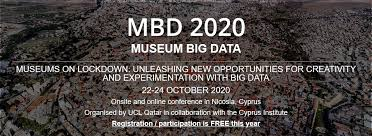 Museum Big Data 2020 conference