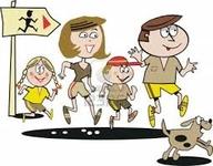 course en famille 2